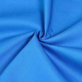 Tissu gabardine bleu roi x 10cm