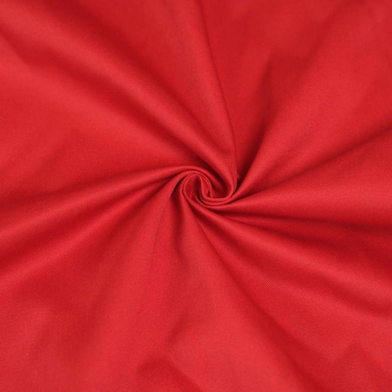 achat tissu gabardine rouge pour travaux de couture pretty mercerie. Black Bedroom Furniture Sets. Home Design Ideas