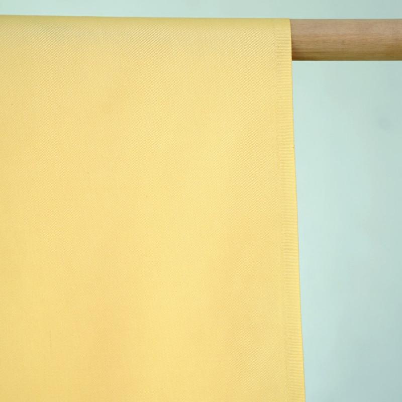 achat Tissu gabardine jaune pastel - pretty mercerie - mercerie en ligne