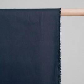 achat Tissu popeline de coton bleu nuit- pretty mercerie - mercerie en ligne