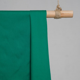 achat Tissu popeline de coton vert émeraude- pretty mercerie - mercerie en ligne