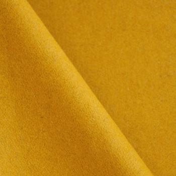 Drap de laine moutarde