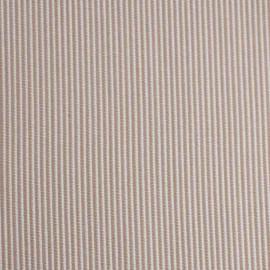 achat TISSU POLYESTER & COTON TISSE RAYE BEIGE - pretty mercerie - mercerie en ligne