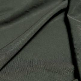 Tissu tri-acétate et nylon sergé kaki x 10cm