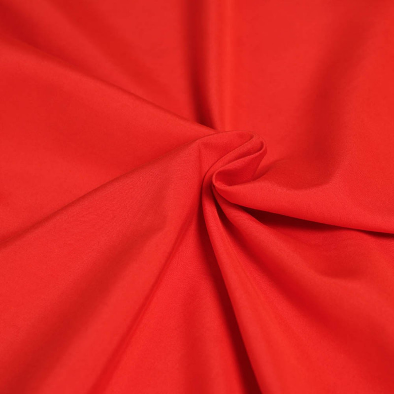 Achat tissu modal au m tre rouge effet peau de p che pretty mercerie - Tissu peau de peche ...