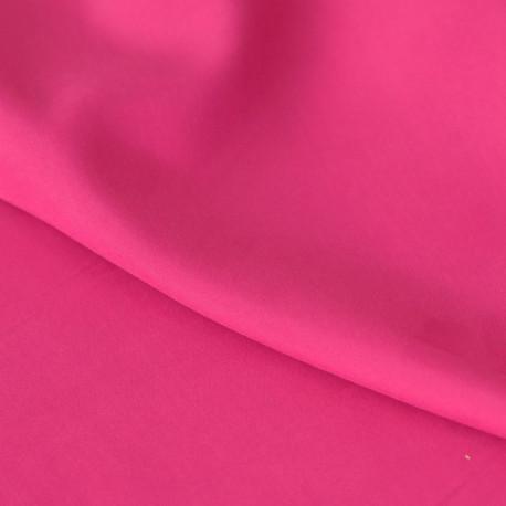 achat Tissu modal rose fuchsia effet peau de pêche - pretty mercerie - mercerie en ligne