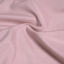 Tissu modal rose vieilli effet peau de pêche x 10cm