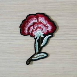 achat Badge brodé motif Fleurs des champs  - pretty mercerie - mercerie en ligne
