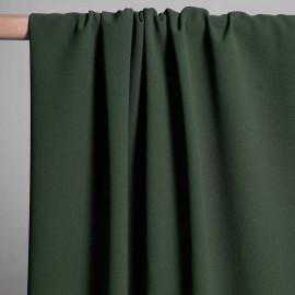 achat Tissu viscose herringbone Vert Foncé - pretty mercerie -mercerie en ligne