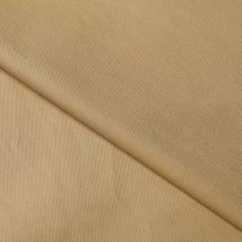 Tissu denim chino sable x 10cm