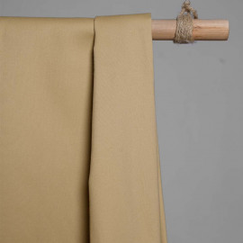 achat Tissu denim chino sable - pretty mercerie - mercerie en ligne