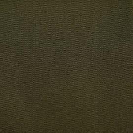 achat Tissu denim chino vert kaki- - pretty mercerie - mercerie en ligne