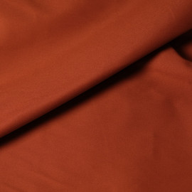 Tissu denim chino brique x 10cm