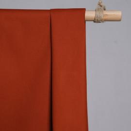 achat Tissu denim chino brique  - pretty mercerie - mercerie en ligne