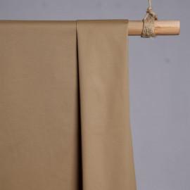 achat Tissu chino beige tan - pretty mercerie - mercerie en ligne