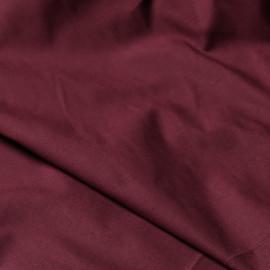 Tissu chino bordeaux x 10cm