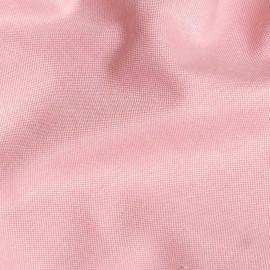 Tissu oxford rose et blanc x 10cm