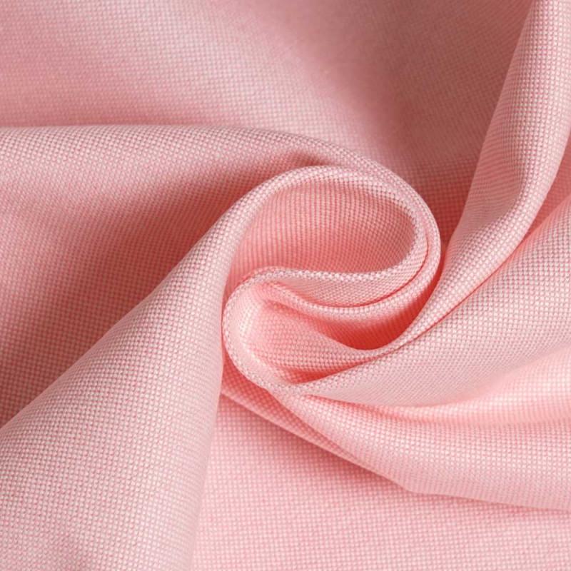 achat Tissu oxford rose et blanc  - pretty mercerie - mercerie en ligne