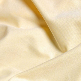 Tissu oxford jaune et blanc x 10cm