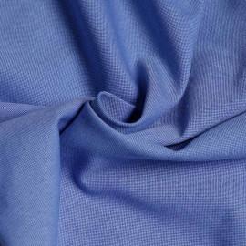 Tissu oxford bleu foncé et bleu ciel  x 10cm