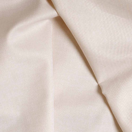 achat Tissu oxford ocre et blanc  - pretty mercerie - mercerie en ligne