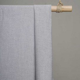 achat Tissu oxford noir et blanc  - pretty mercerie - mercerie en ligne