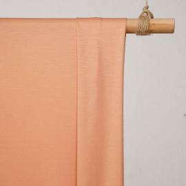 achat tissu maille jersey cupro peach bloom - pretty mercerie - mercerie en ligne