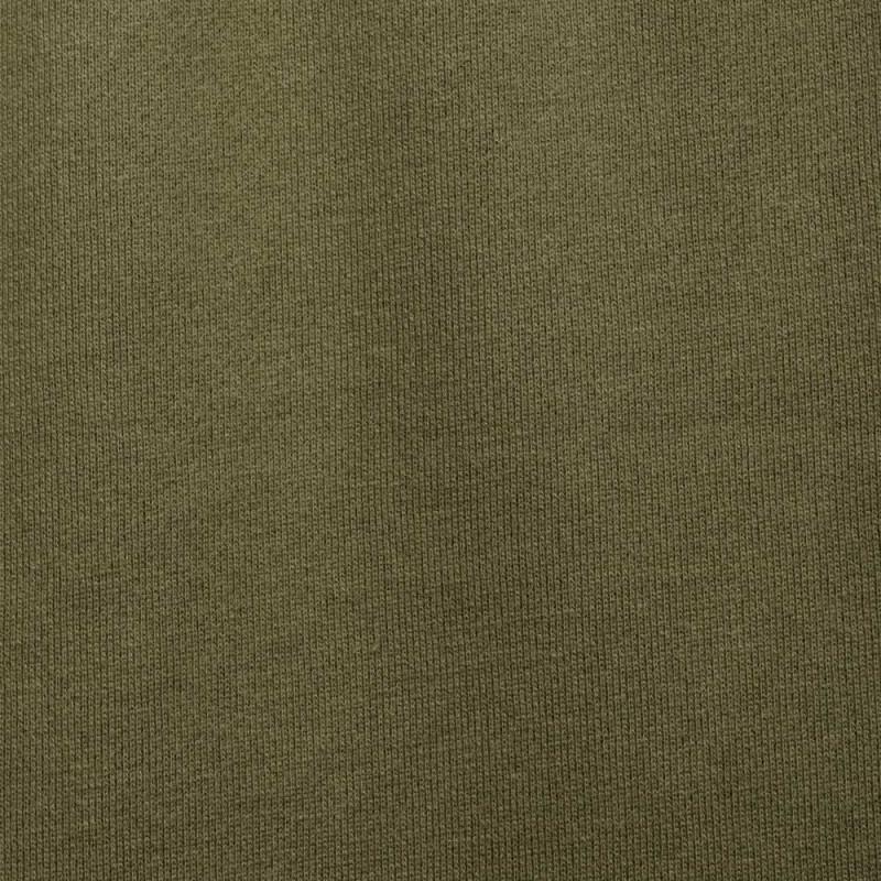 achat tissu sweat kaki  - pretty mercerie - mercerie en ligne