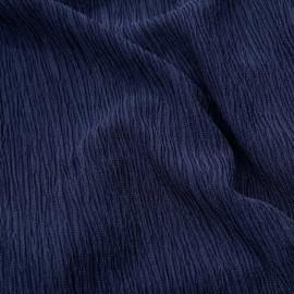 Tissu tencel bleu x 10cm
