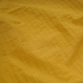 Tissu coton inca gold lignes tissés  x 10cm