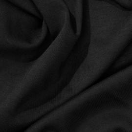 Tissu jersey bambou noir x 10cm