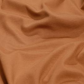 Tissu jersey bambou caramel x 10cm