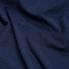 Tissu jersey bambou bleu éclipse x 10cm