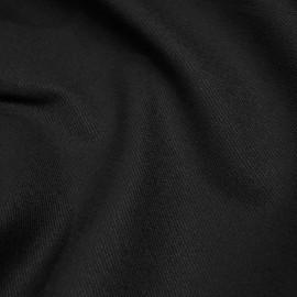 Tissu denim chino noir  x 10cm