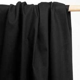achat tissu denim chino noir - pretty mercerie - mercerie en ligne