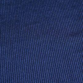 achat tissu velours côtelé et satiné bleu - pretty mercerie - mercerie en ligne
