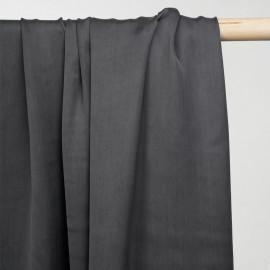 achat tissu cupro gris castlerock  - pretty mercerie - mercerie en ligne