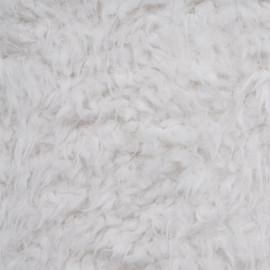 achat tissu fausse fourrure effet mouton poils long pristine  pretty mercerie - mercerie en ligne