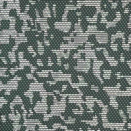 achat tissu jacquard effet camouflage chic vert blanc et argent - pretty mercerie - mercerie en ligne