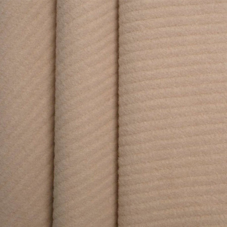 achat Tissu laine sable - pretty mercerie - mercerie en ligne
