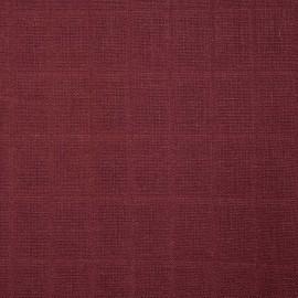 Tissu lange de coton bordeaux cordovan - tissus en ligne - pretty mercerie