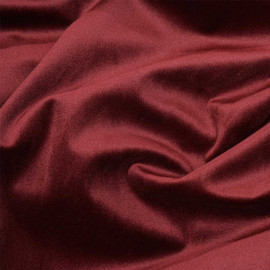 Tissu velours rumba red x 10cm