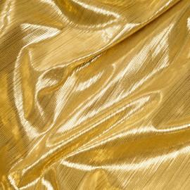 Tissu côtelé et lamé or - tissus en ligne - pretty mercerie