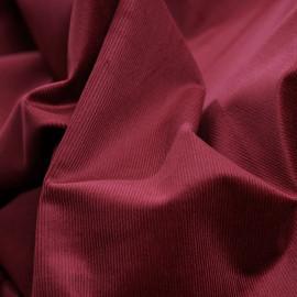 Tissu velours milleraies cordovan x 10 cm
