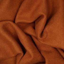 Tissu maille safran effet laine x 10cm