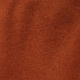Tissu maille safran effet laine - pretty mercerie - mercerie en ligne