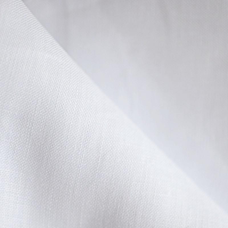 tissu lin blanc -mercerie en ligne - pretty mercerie