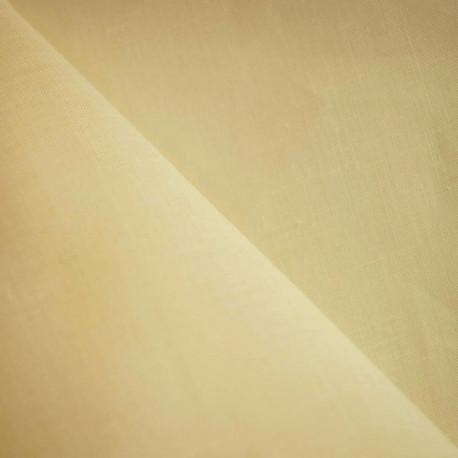 tissu lin jaune pastel - mercerie en ligne - pretty mercerie