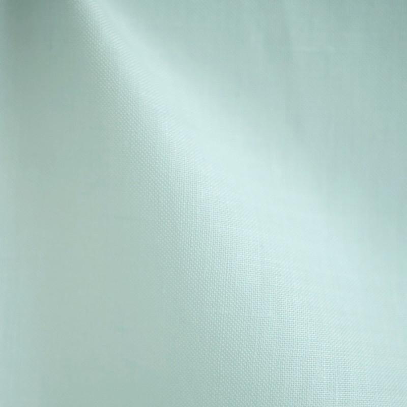 tissu lin bleu soothing sea - pretty mercerie - mercerie en ligne