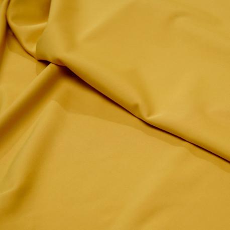 Tissu maillot de bain ocre - pretty mercerie - mercerie en ligne